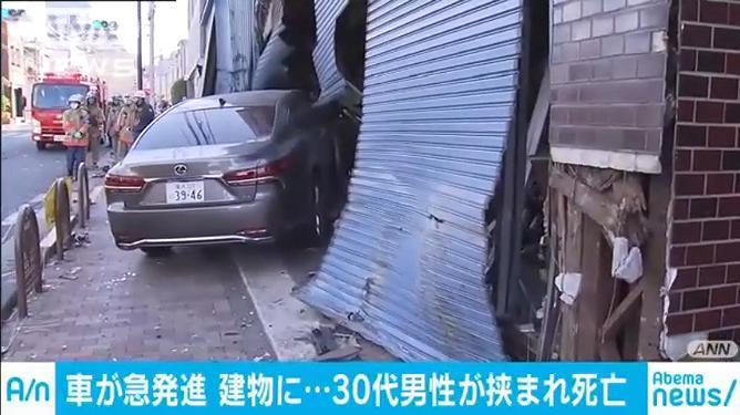 B!] 元東京地検特捜部長の石川達紘さん(78)が運転する車が歩道に ...
