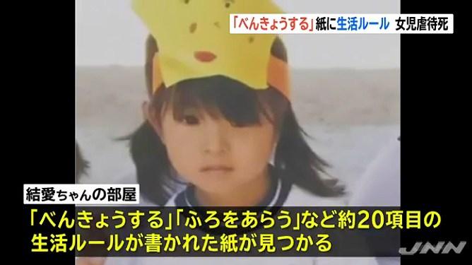 結愛ちゃん ノート