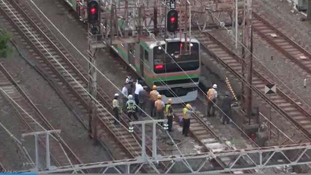 JR東海道線 飛び込み自殺