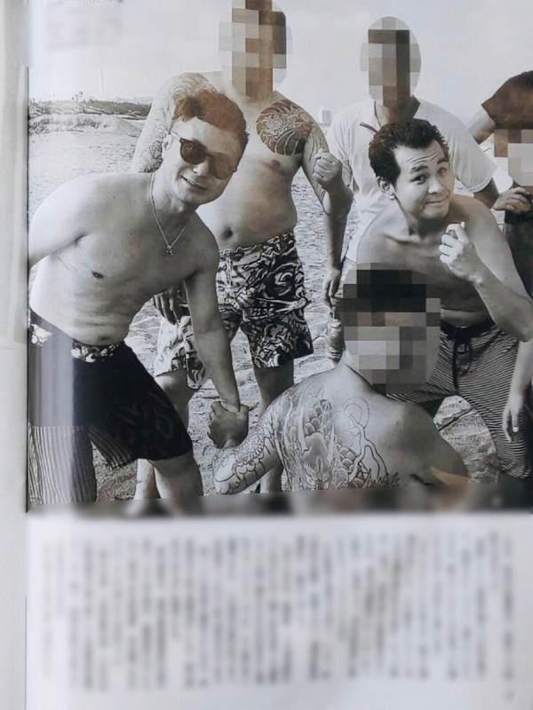 FRIDAYに宮迫博之が半グレ金塊強奪犯と「ギャラ飲み」現場写真2