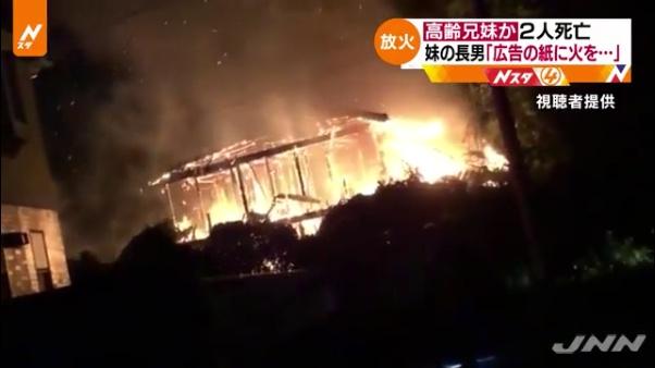 萩原幸広容疑者「広告の紙にガスコンロで火をつけ、放火した」2