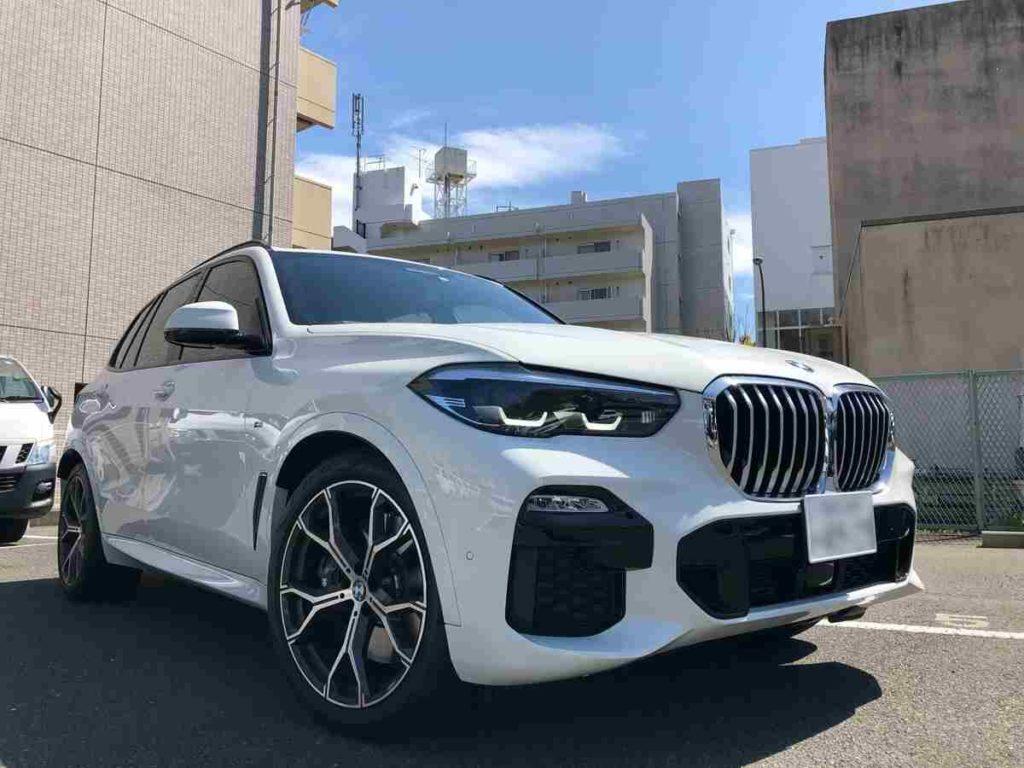 BMW X5の試乗車を貸し出しディラーは「Tomei-Yokohama BMW 横浜三ツ沢支店」か1