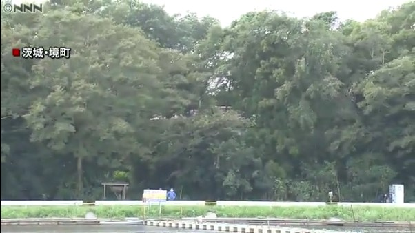 現場は茨城県境町若林の小林光則さんの自宅