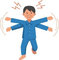 インフルエンザの異常行動による事故を防ぐために