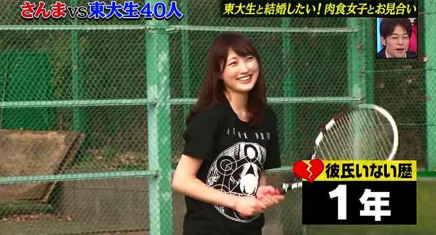森田由乃さんは「さんまの東大方程式」に出演していた2