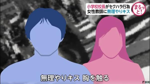 藤城守が30代女性教諭を人気のない場所に連れて行き無理やりキスをし胸を触る