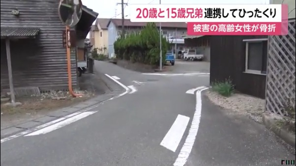 現場は佐賀県神埼市神埼町鶴の路上