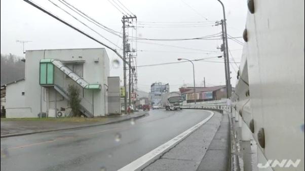 現場は神奈川県足柄上郡大井町上大井の県道72号