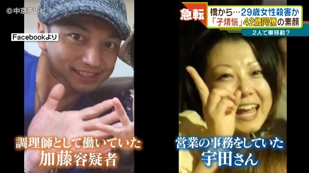 加藤淳也と宇田仁美さんは「ナガシマリゾート」の同僚