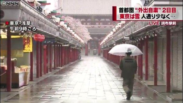 浅草寺の様子