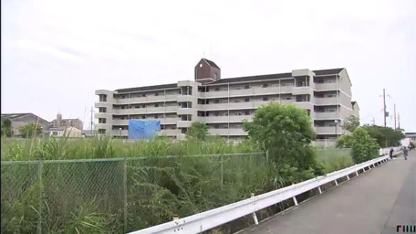 現場は姫路市白浜町の「姫路白浜第3鉄筋住宅」