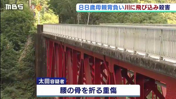 太田高之容疑者も腰の骨を折る重傷
