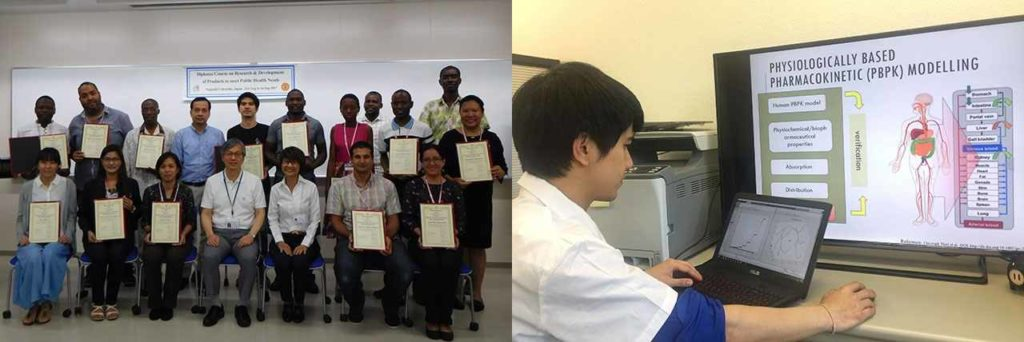 楢原知里さんは熊本大ヒトレトロウイルス学共同研究センターの特定事業研究員