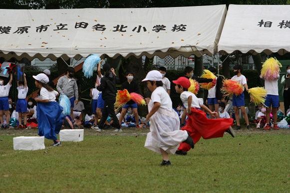 コロナ下で工夫を凝らした運動会を開催した相模原市立田名北小学校