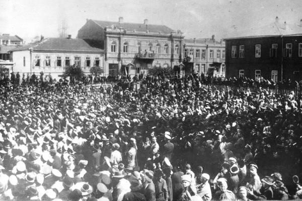 1917年にロシア革命