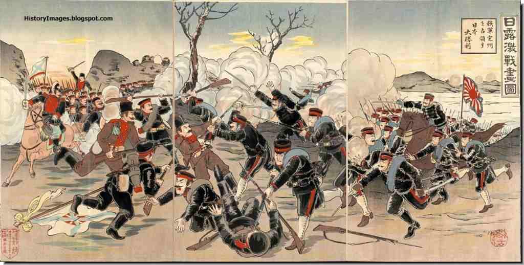 1904年日露戦争勃発