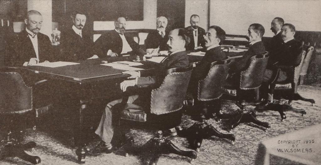 1905年ポーツマス条約締結