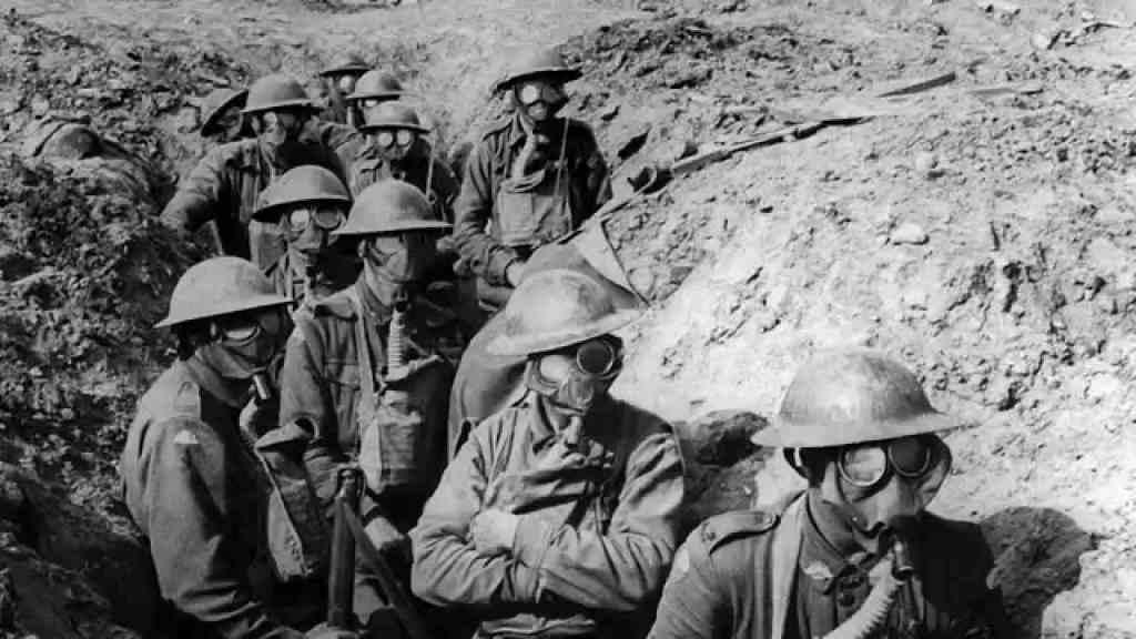 第一次世界大戦勃発
