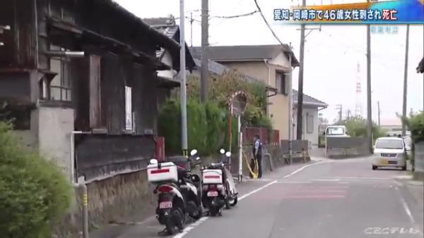 現場は岡崎市島坂町鳥山の稲垣隆さん住宅