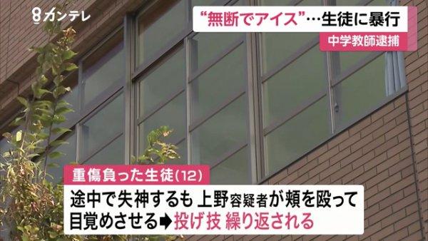 上野宝博容疑者は失神しても叩き起こして暴行を繰り返す