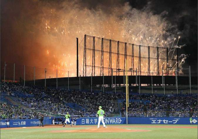 嵐フェス2020の花火や風船で神宮球場のヤクルトVS中日戦が一時中断 ジャニーズ事務所が謝罪