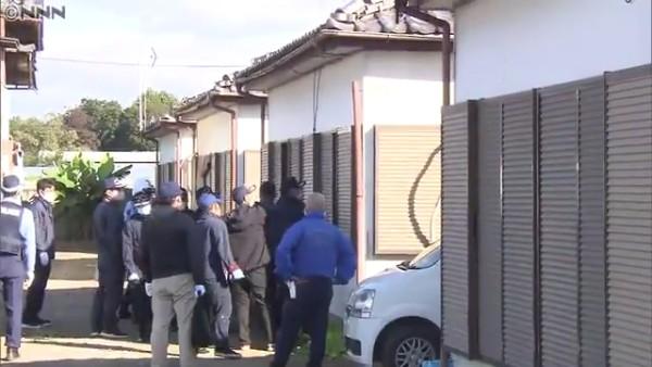 家宅捜索の現場は太田市新田上中町にある住宅