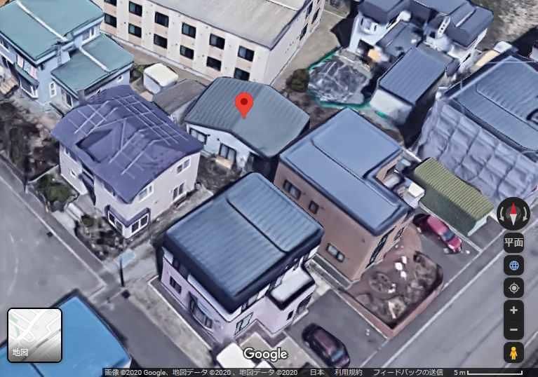現場は北海道江別市一番町の谷地卓海の自宅