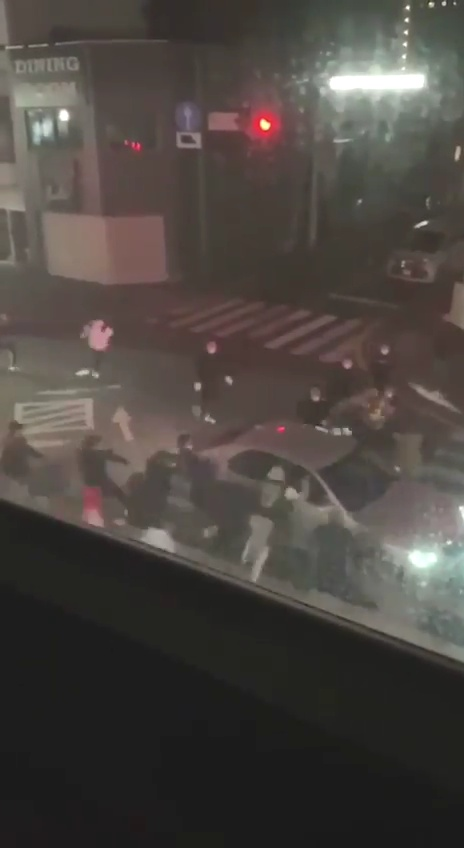 伊勢崎市の銃撃事件の動画