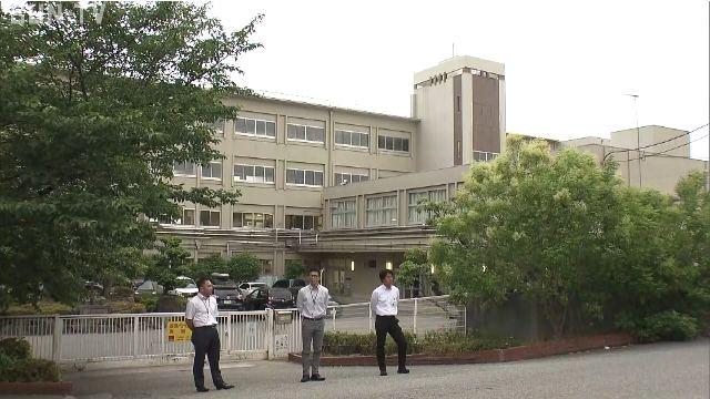 中2女子が飛び降りた現場は宝塚市立宝塚中学校