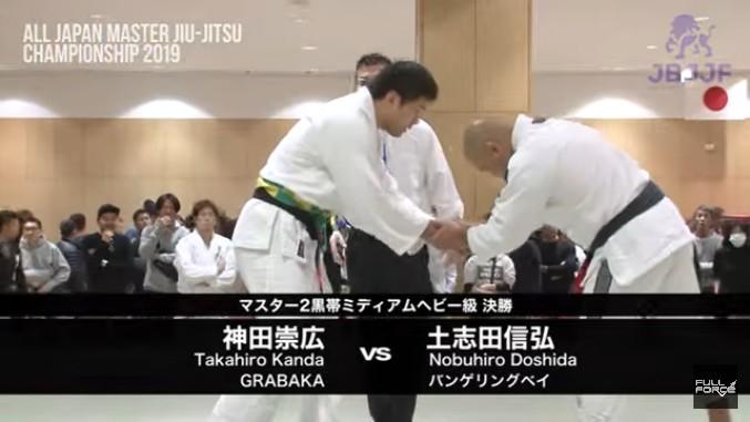 土志田信弘さんはブラジリアン柔術の指導者