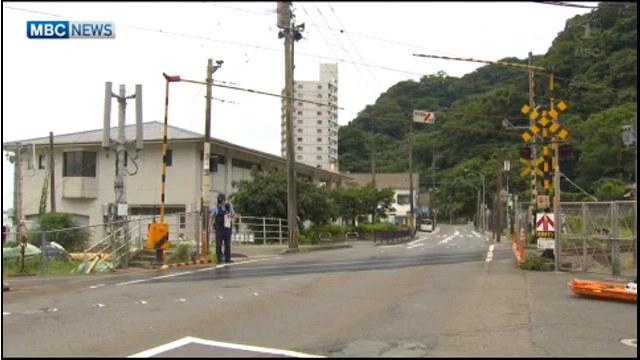 現場はJR日豊本線 鹿児島市吉野町の磯街道踏切