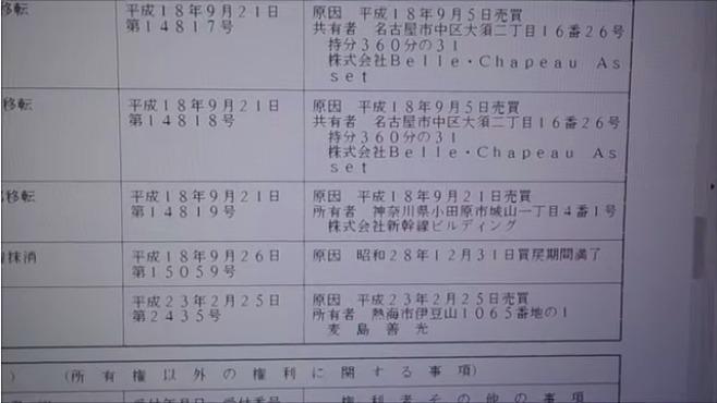 武田学校が熱海伊豆山土石流メガソーラーと産廃場の所有者を特定する