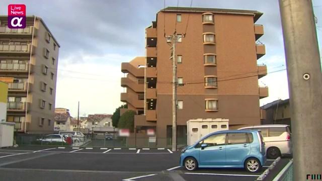 現場は八千代市大和田新田の「メゾン・ド・エメロード」の駐車場