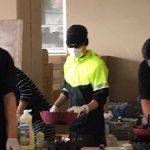 SMAPの中居が熊本の小学校で炊き出してたらしい