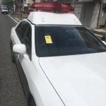 【駐車違反】「下関の駐車違反取締は容赦がない」 パトカーに駐禁ステッカー 山口県警「駐車違反でない」と反論