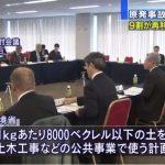 原子力規制庁 環境省の汚染度再利用の方針に疑義