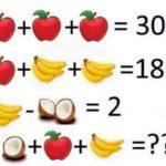 フルーツのクイズとやらがさっぱり分からん