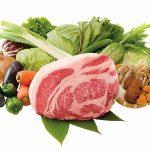 貧乏人は肉と野菜を食わんらしい