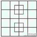 次の画像から正方形を31個見つけたら人材、35個は天才、40個以上はアップル社の面接行ったほうがいいらしい
