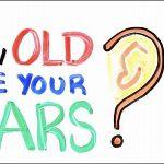 耳年齢がチェックできる動画を見た